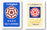 4 star Gold - enjoyEngland